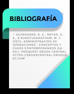 Bibliografía de administración de operaciones