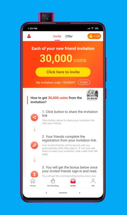 Sistema de referidos de Cashzine (ganar dinero invitando personas)