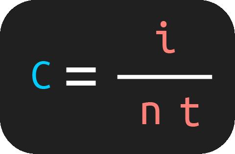 fórmula para calcular el capital en interés simple
