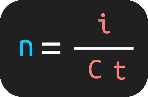 fórmula para calcular el tiempo en interés simple