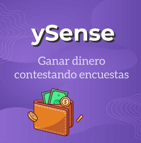 Ganar dinero contestando encuestas con la página ySense