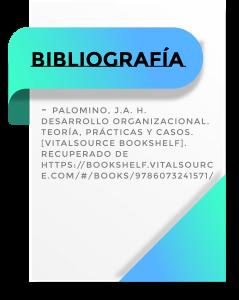 bibliografía de desarrollo organizacional