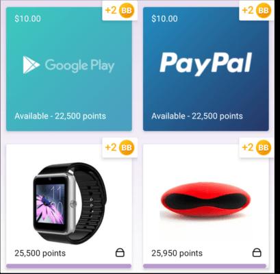 Ganar dinero, premios y tarjetas de regalo con Current cash rewards