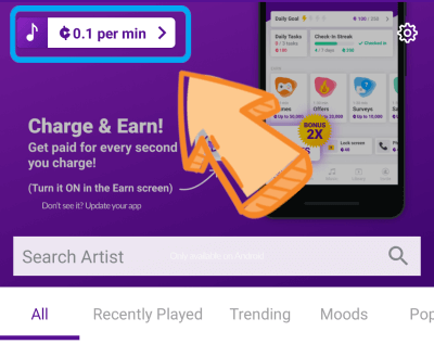 Ganar dinero más rápido con current cash rewards