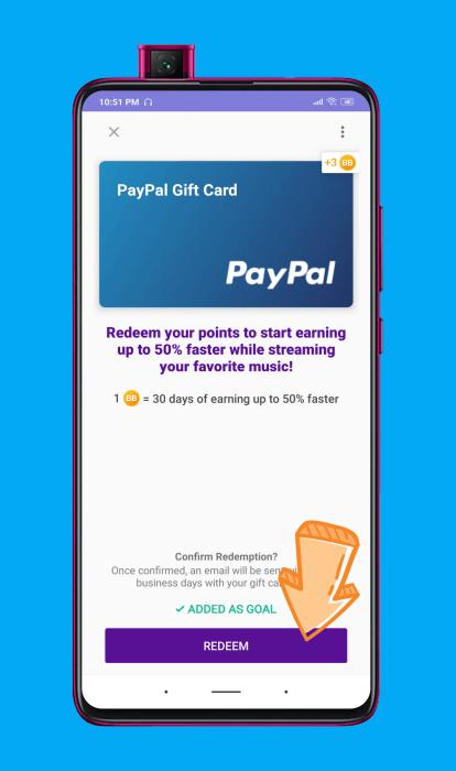 Retirar el dinero de Current Cash Rewards