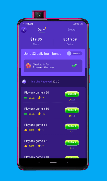 Ganar dinero con las misiones diarias de GoGoal